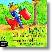 Der kleine Drache Kokosnuss kommt in die Schule. 1 CD